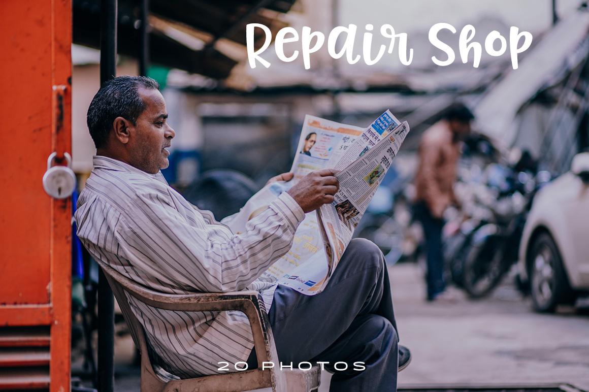 Premium Repair Shop Stock Photos