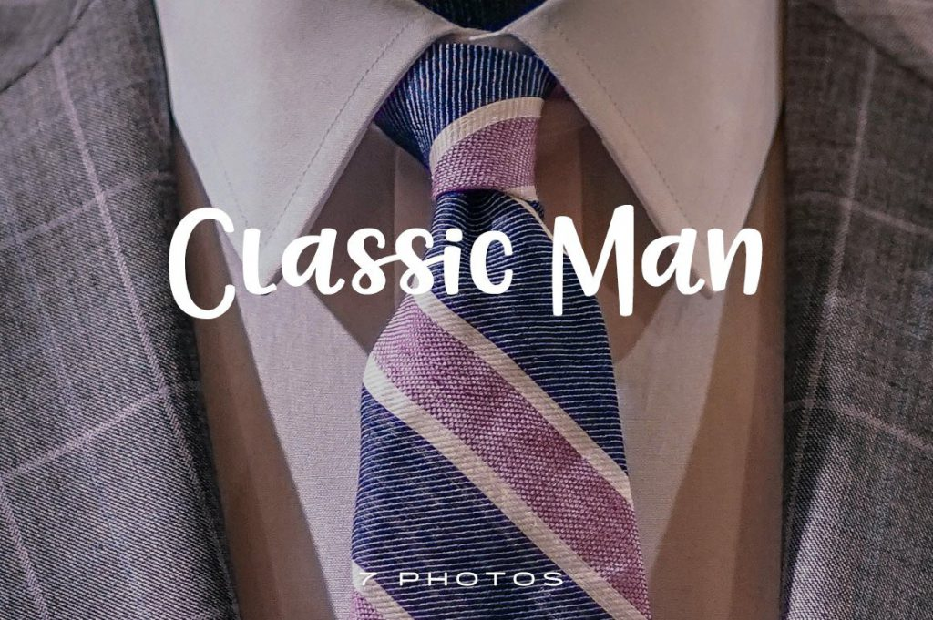 Classic Man Photo Pack