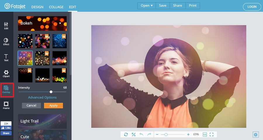 FotoJet all-in-one free online tool