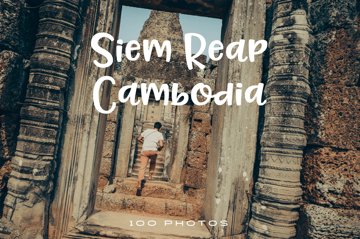 Find both the past and the present at home in Siem Reap, Cambodia. Discover beautiful people and places in this premium photo pack.