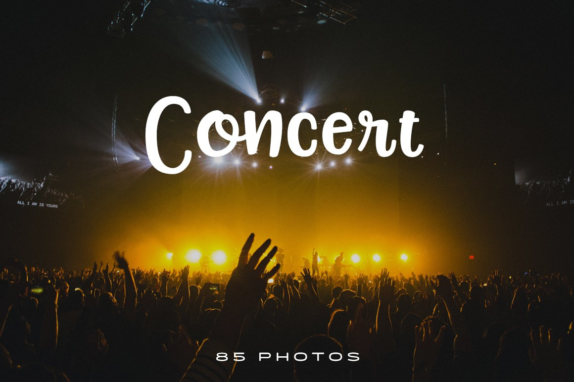 85 free public domain photos of concerts