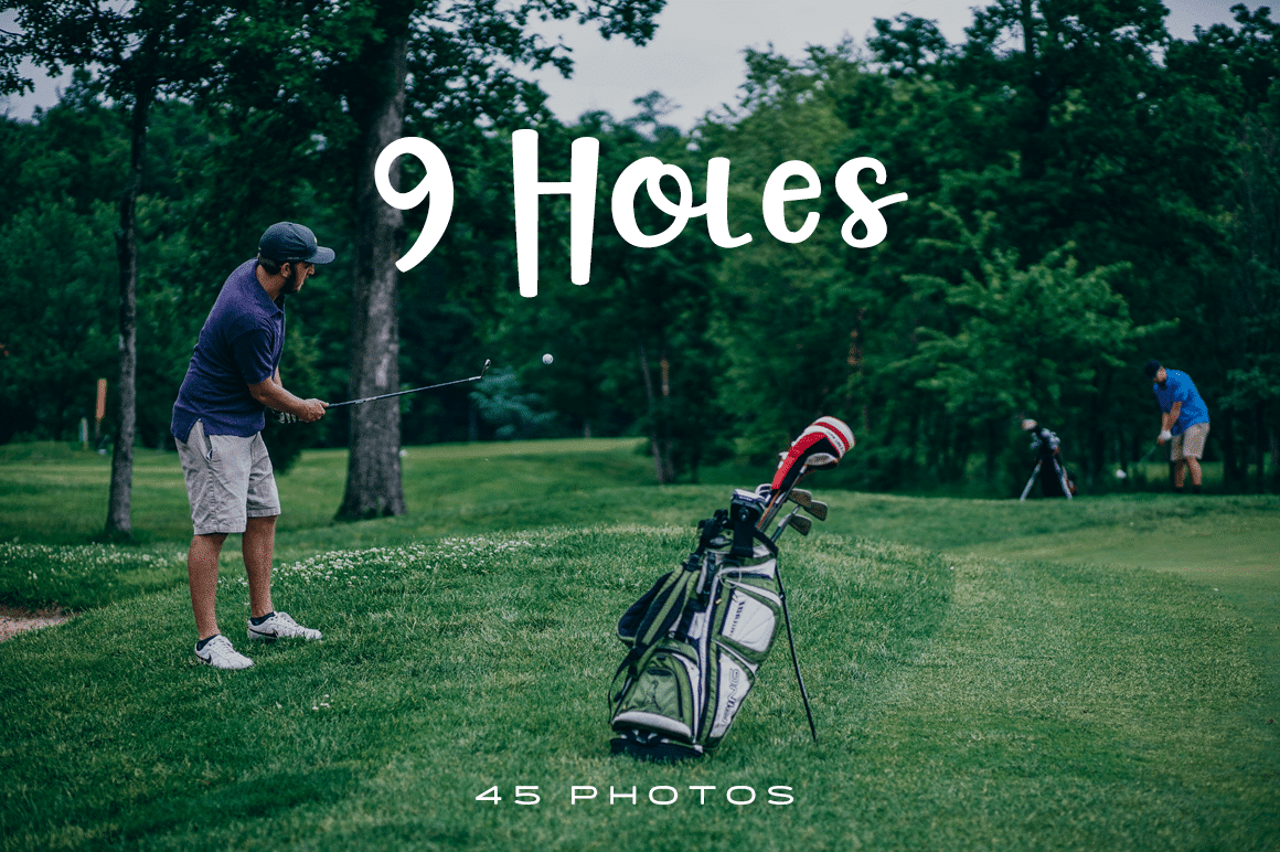 9 Holes Photo Pack