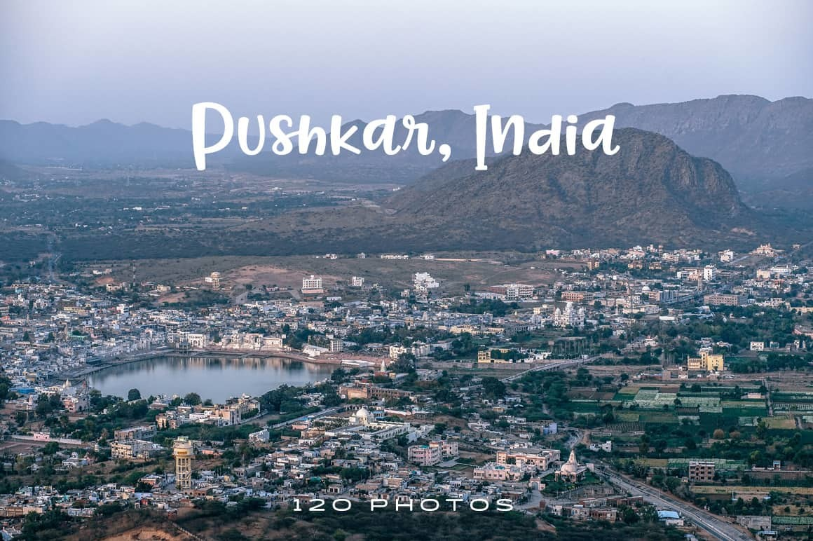 Pushkar India Photo Pack