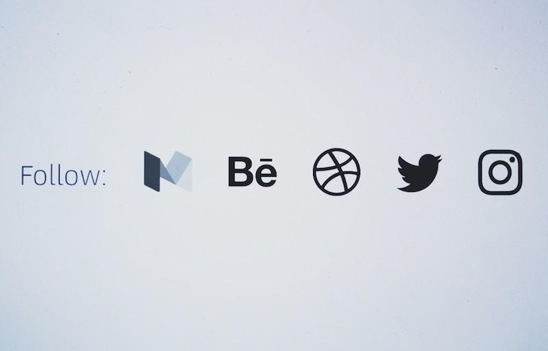 Follow Social Media Icons