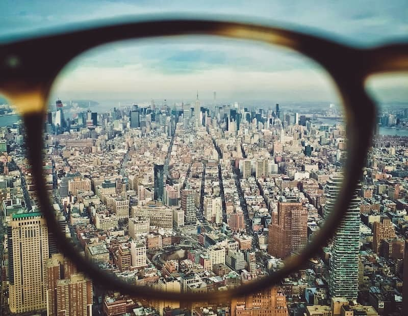 New-York-City-Seen-Through-a-Glass-Lens