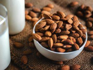 almonds beverage bottle