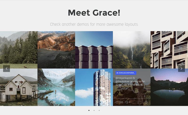 Grace Instagram plugin