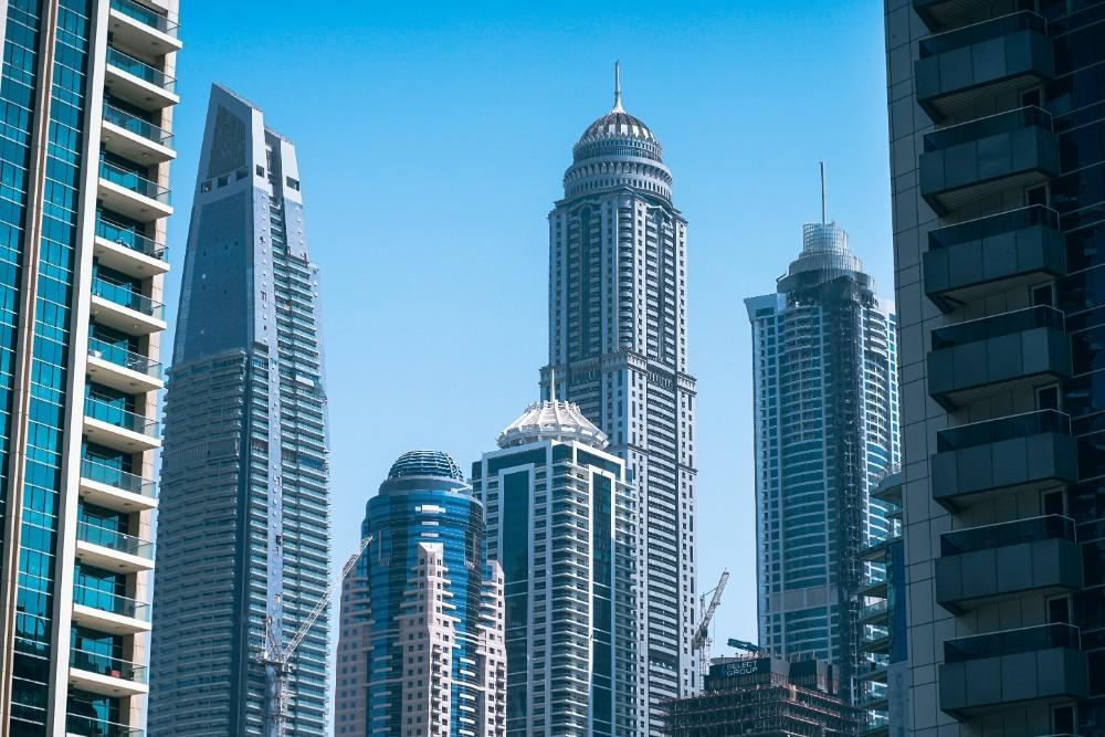 Dubai-Skyscrapers