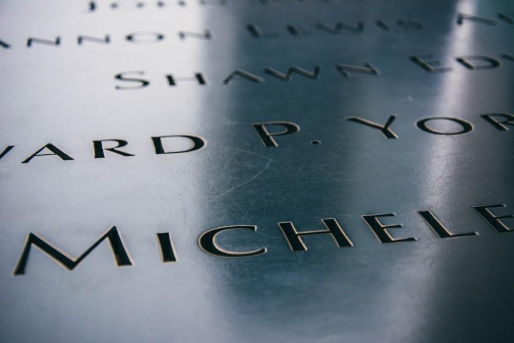 9/11 Memorial Name Engravings