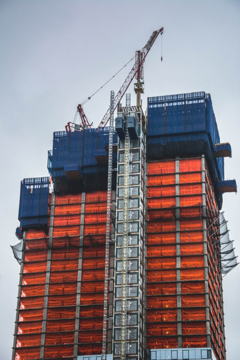 Construction-Work-on-a-Tall-Building-in-New-York-City