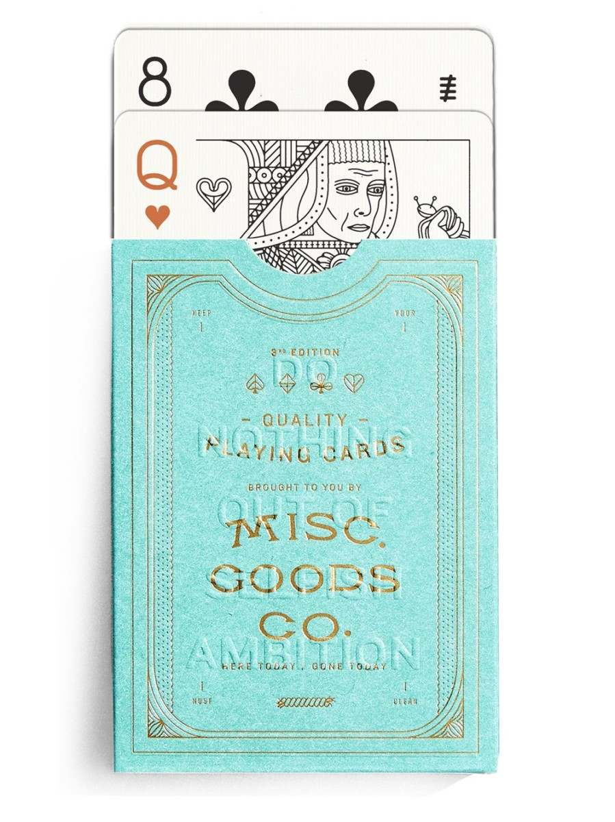MGCO Green Card Deck by Misc. Goods Co.