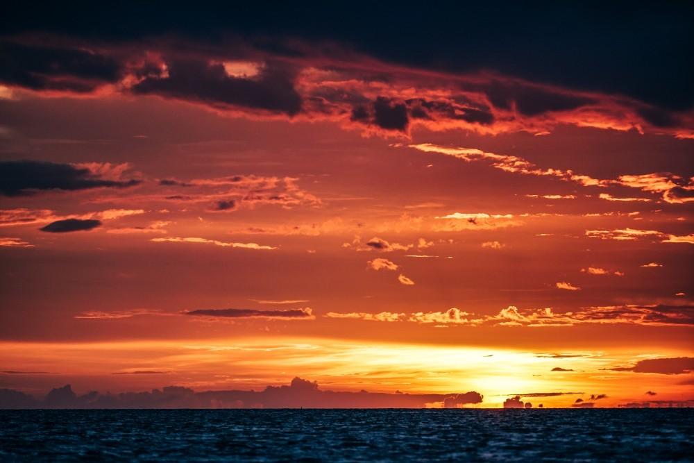 Magical Sunset in Koh Phangan, Thailand