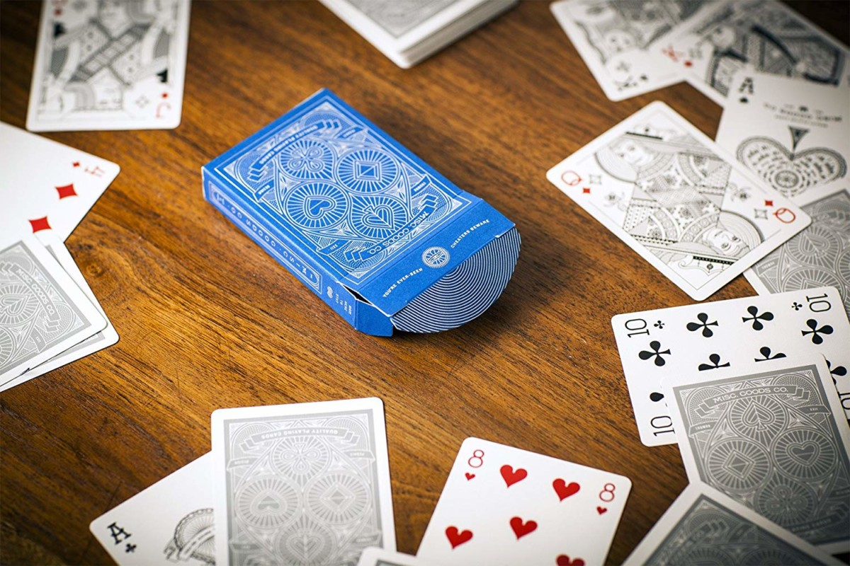Misc Goods Co Blue Playing Cards Deck