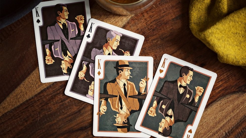 Pressers Mad Men Era Playing Cards by Ellusionist