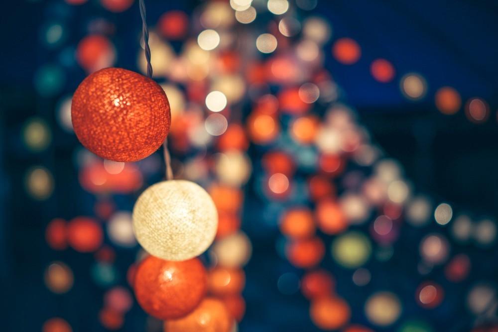 Bokeh Photography of Decorative Lights