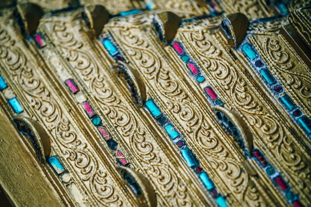 Golden-Details-on-the-Doi-Suthep-Temple-in-Chiang-Mai
