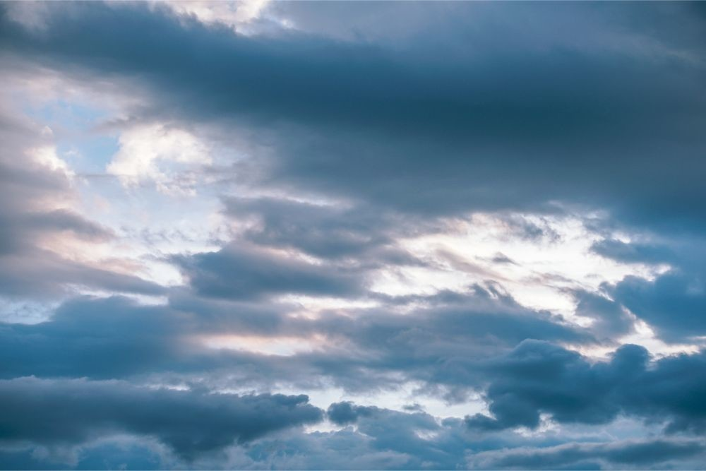 Cloudy Sky over Koh Phangan Thailand