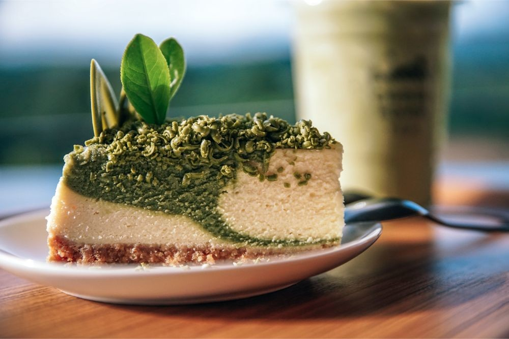 Green Tea Cheesecake