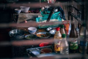 Lunch Preparations in a Nepali Kitchen