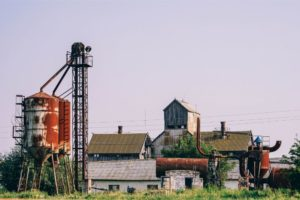 Old Farm in Dzhankoy Crimea