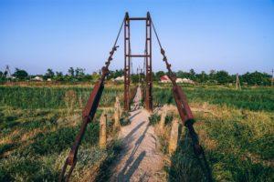 Rusty Walking Bridge