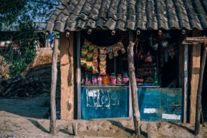Small Snack Shop in a Nepali Village