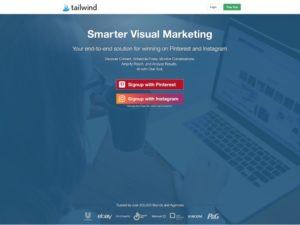 Tailwind Pinterest Instagram Scheduler Analytics Marketing Tool