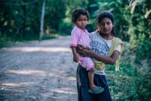 Two Nepali Village Girls