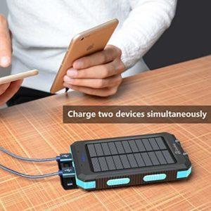 Hiluckey mAh Solar Charger