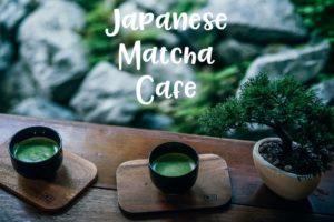 Japanese matcha cafe