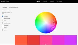 Adobe Color color tool