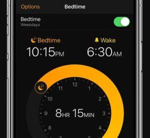Bedtime meditation app