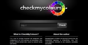 Check My Colours color tool