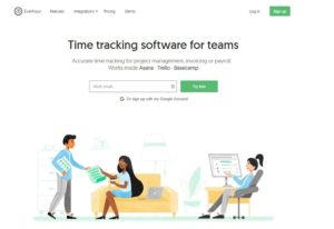 Everhour time tracking