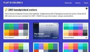 Flat UI Colors color tool
