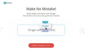Ginger grammar tools