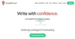 GradeProof grammar tools