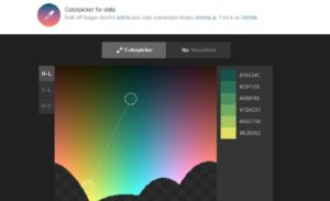 HCL Colorpicker color tool