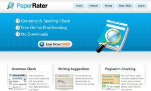 PaperRater grammar tools