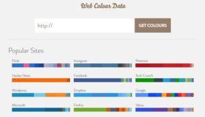 Web Color Data color tool