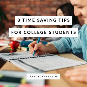 Time Saving Tips for College Students