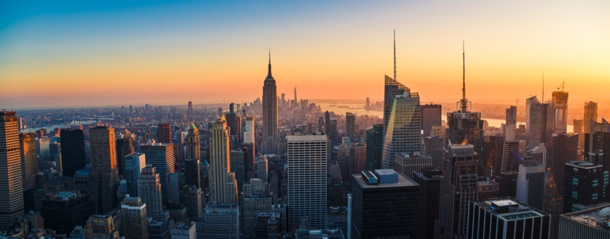 aerial panoramic cityscape view of manhattan new PDQMTRY