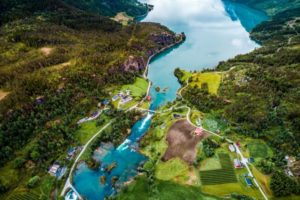 beautiful nature norway aerial photography PTQSM