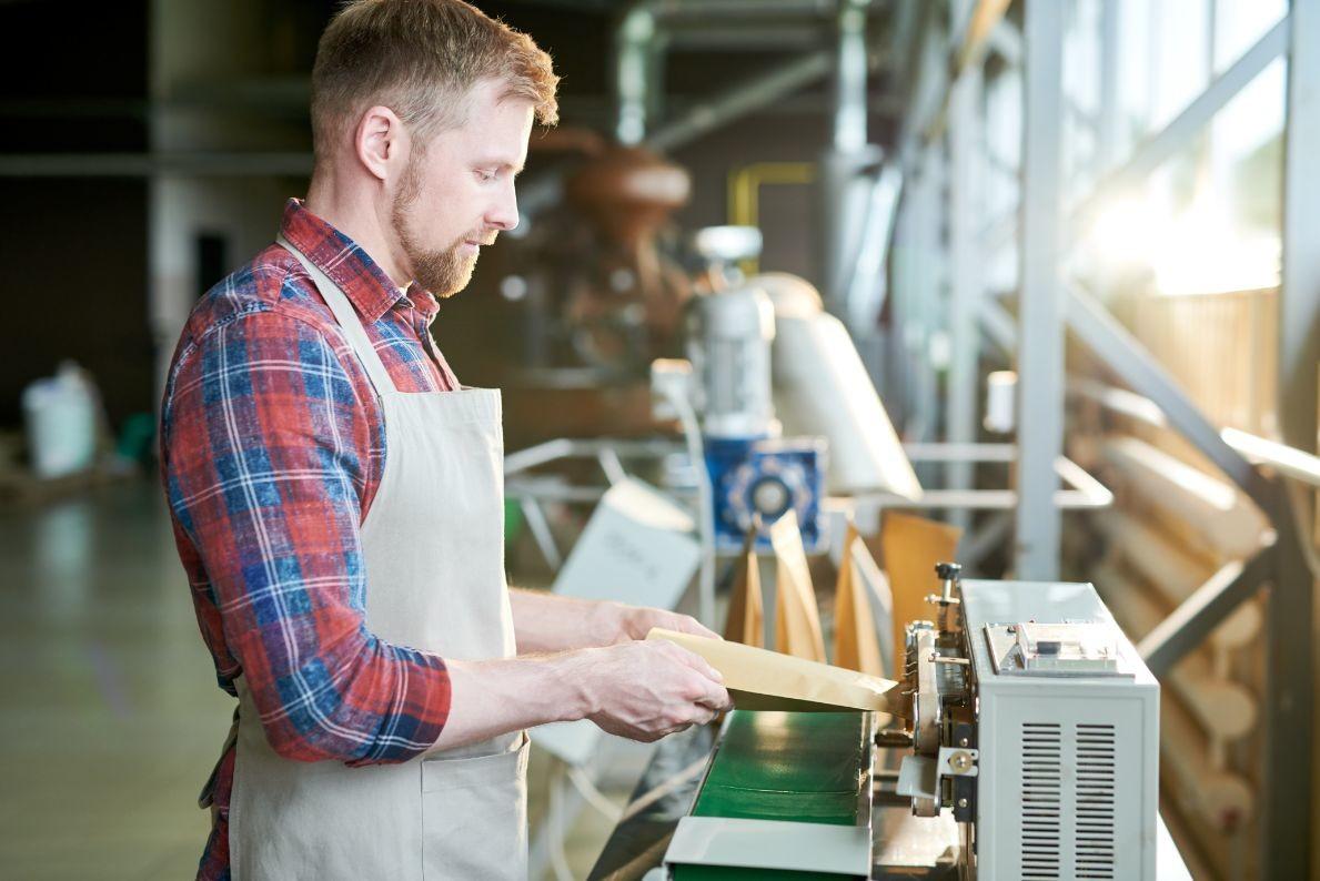 modern coffee manufacturer LSNZ