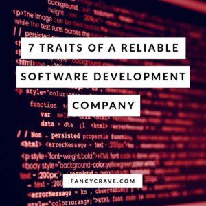 Traits of a Reliable Software Development Company