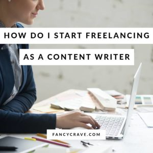 Freelancing as a Content Writer
