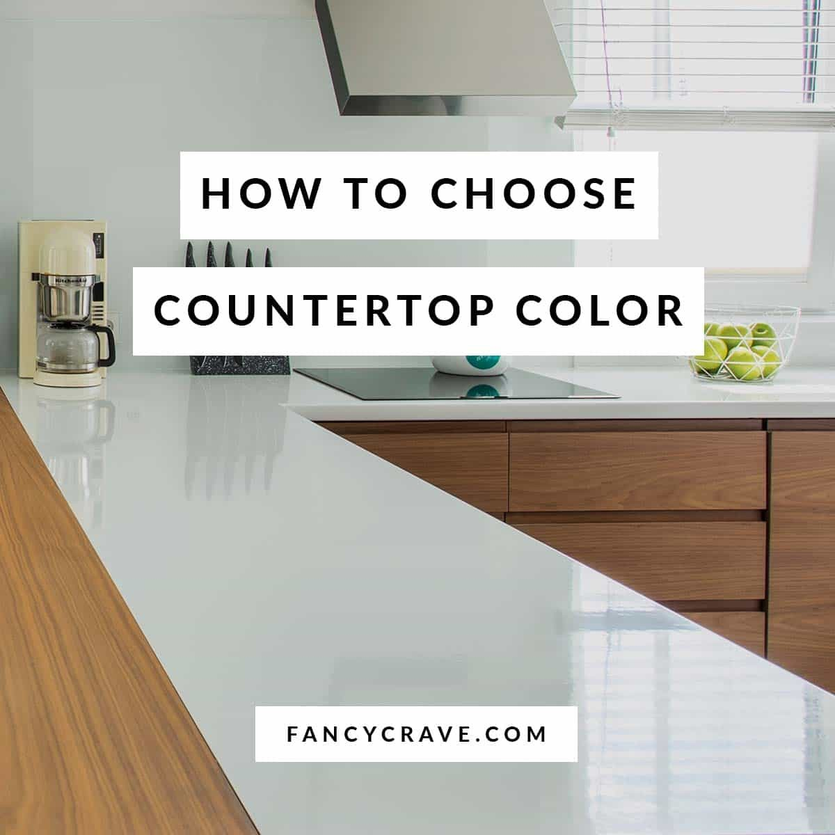 What Color To Choose For Your Countertop Fancycrave