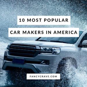 Most Popular Car Makers In America