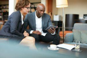 business people meeting in a coffee shop PJVTBG