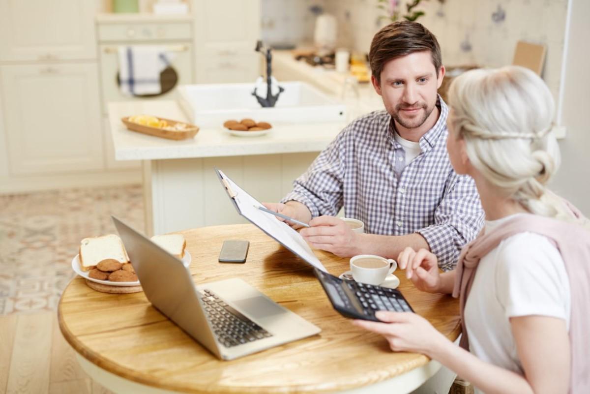 couple filing tax return PVATG